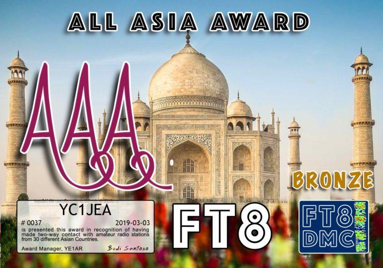 All Asia Award
