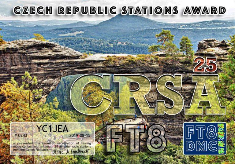 Czech Republic Stations Award