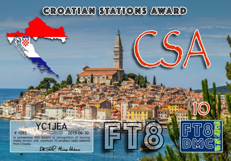 Croatian Stations Award