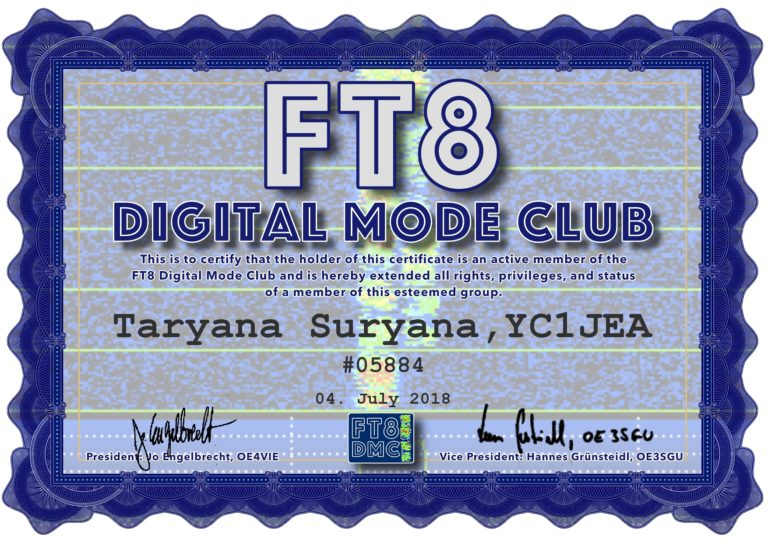 FT8 Digital Mode Club