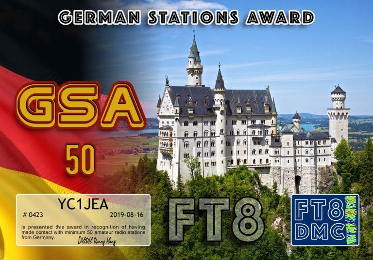 German Stations Award