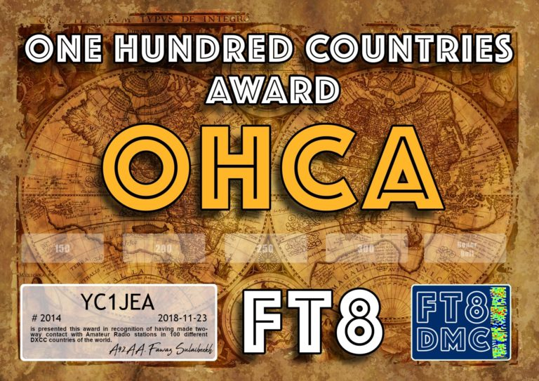 One Hundred Countries Award