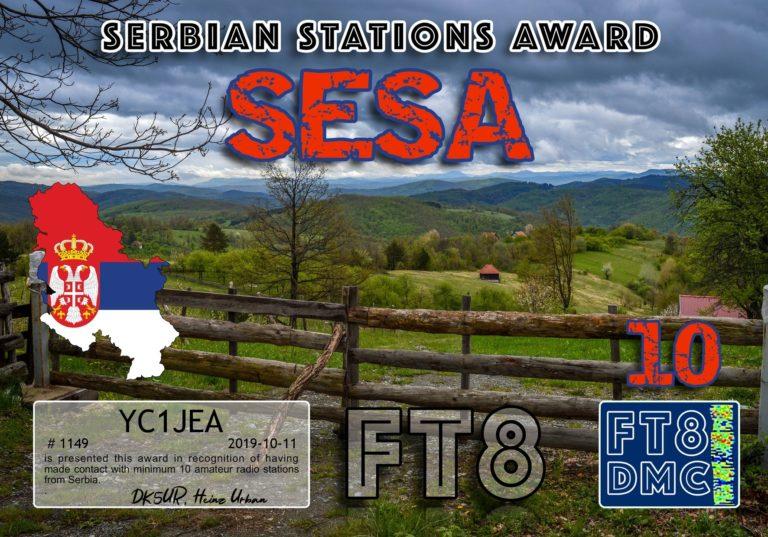 Serbian Stations Award