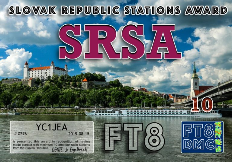 Slovac Republic Stations Award