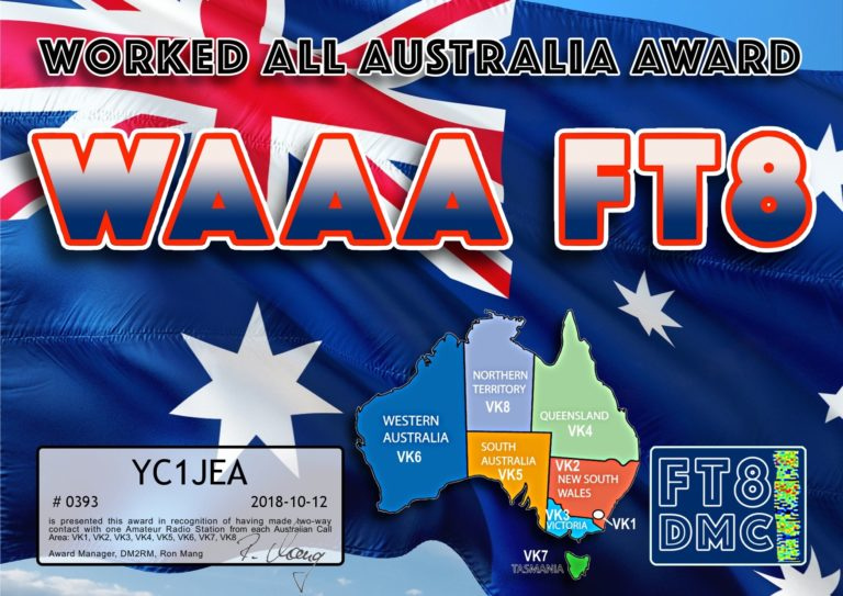 Worked All Australia Award