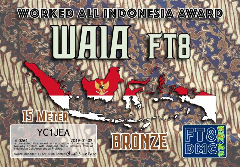 Worked All Indonesian Award