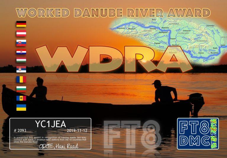Worked Danube River Award