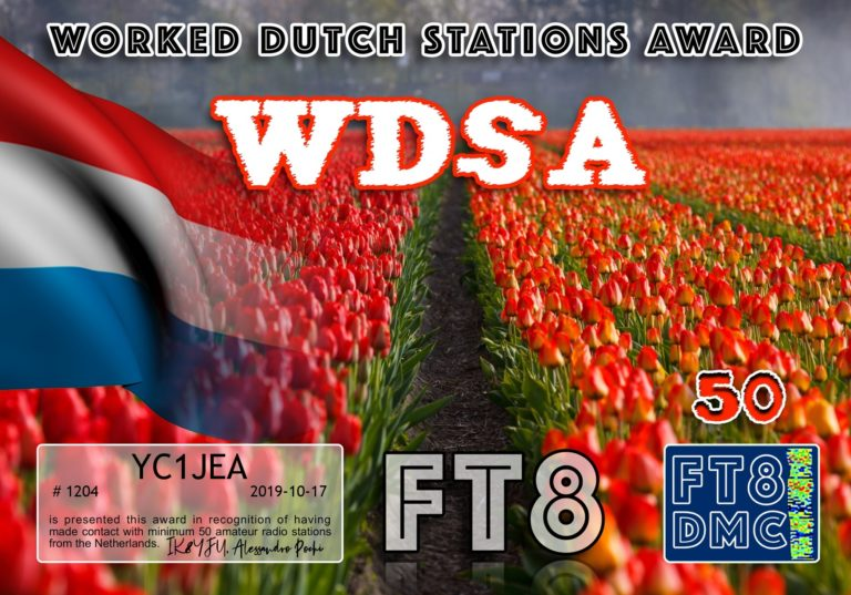 Worked DUTCH Stations Award