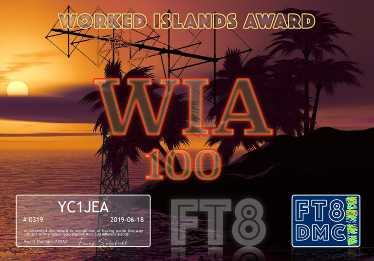 Worked Islands Award