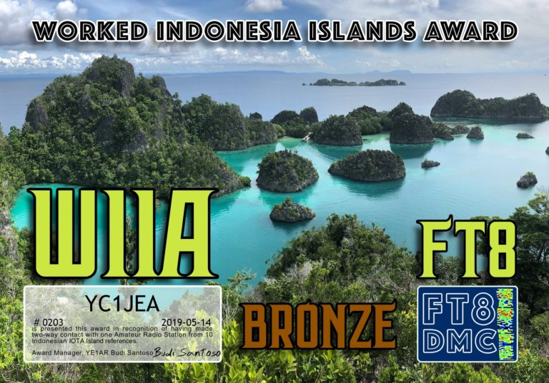 Worked Indonesian Islands Award