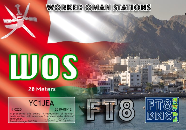 Worked Oman Stations