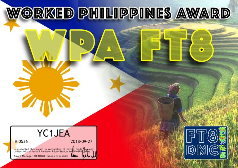 Worked Philippines Award