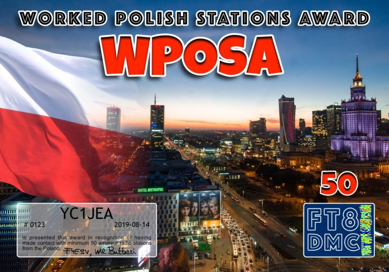 Worked Polish Stations Award