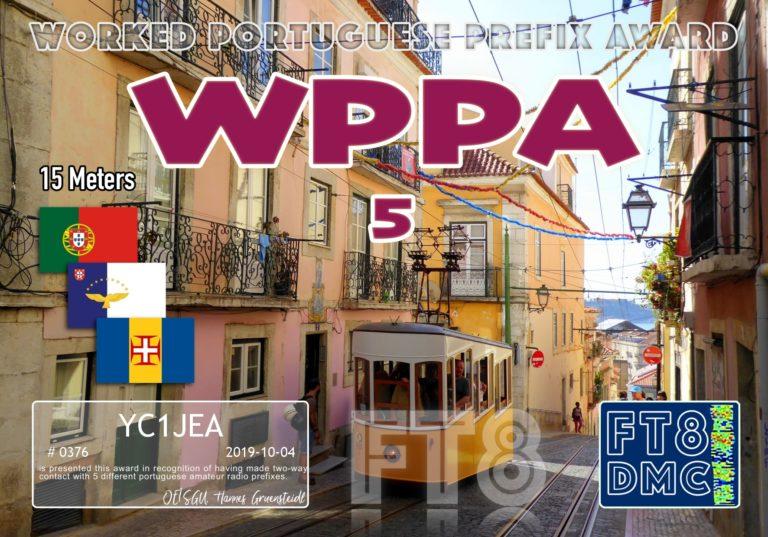 Worked Portuguese Prefix Award