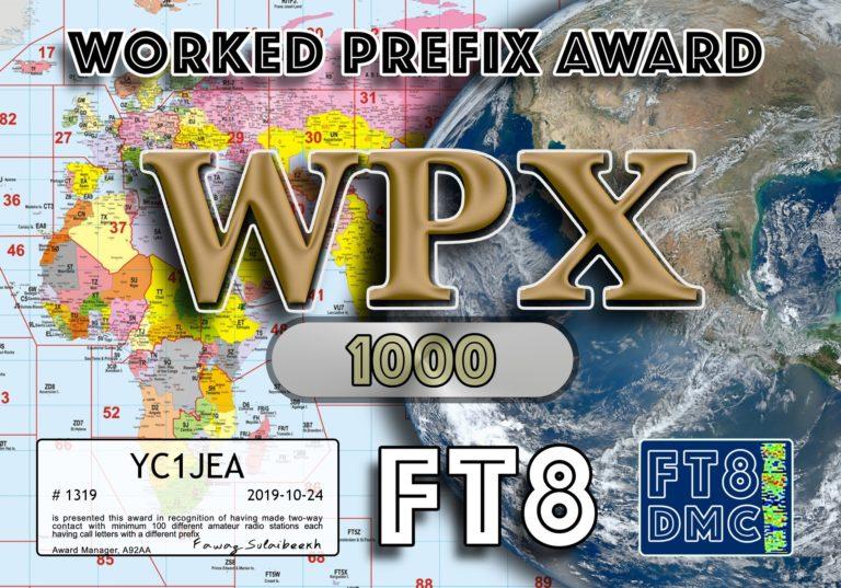 Worked Prefix Award