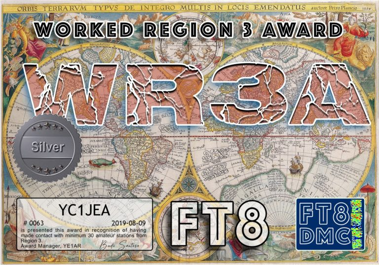 Worked Region 3 Award