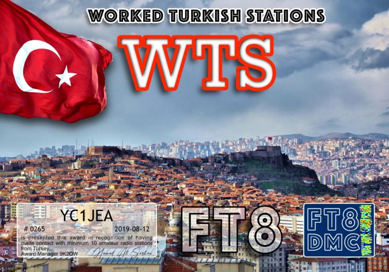 Worked Turkish Stations