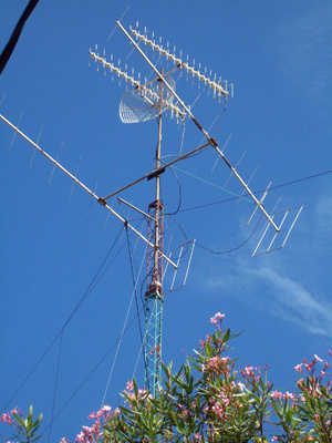 Peralatan Antena Komunikasi