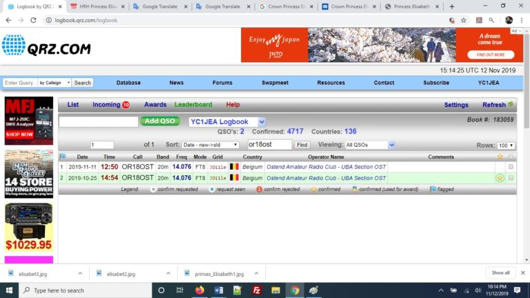 Komunikasi Radio Digital dengan Menggunakan Mode JT65 : YC1JEA