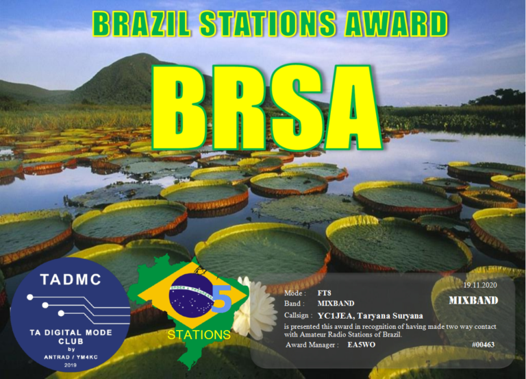 Brazil Stations Award